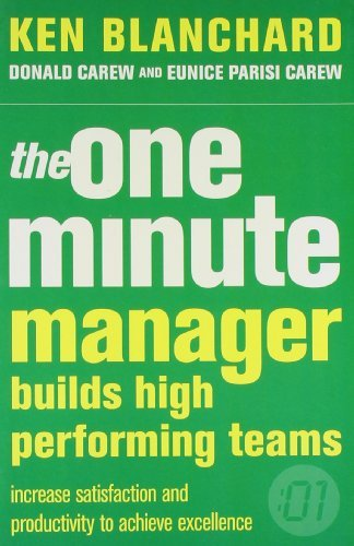 The One Minute Manager Builds High Performing Teams by Blanchard (2006-10-01) Paperback