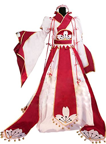 Mtxc Tsubasa: Reservoir Chronicle Cosplay Costume Sakura Kinomoto XL Red ()