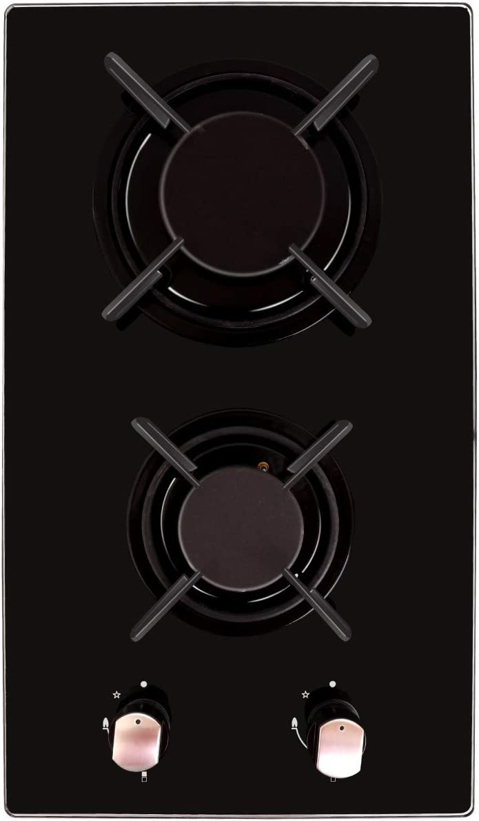 Amazon.com: NOXTON - Cocina de 11.8 in con gas Domino ...