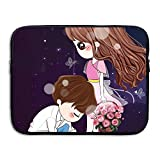 Jess Laptop Sleeve Bag Cartoon Couple Cover Computer Liner Package Protective Case Waterproof Computer Portable Bags