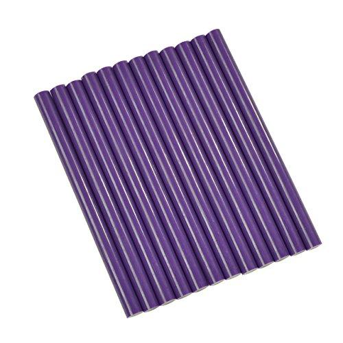 Purple Colored Glue Sticks Mini X 4