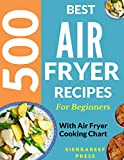 AIR FRYER: AIR FRYER COOKBOOK: 500 BEST RECIPES TO FRY, GRILL, ROAST AND BAKE (paleo, clean eating, keto, healthy meals, air fryer recipes cookbook, cooking for two, vegan, Instant meal, pot )