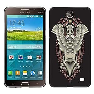 Dragon Case - FOR Samsung Galaxy Mega 2 - Death comes to all - Caja protectora de pl??stico duro de la cubierta Dise?¡Ào Slim Fit