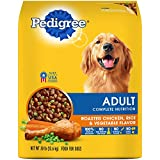 PEDIGREE Complete Nutrition Adult Dry Dog Food Roasted Chicken, Rice & Vegetable Flavor, 30 lb. Bag