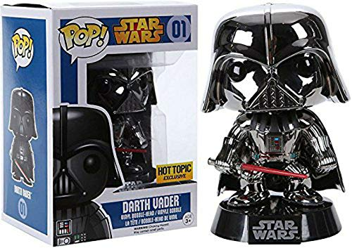 - Japan Import ! Limit POP Star Wars Darth Vader chrome-plated version of POP - Star Wars Series:! Star Wars - Darth Vader Chrome Plated Version