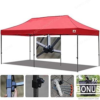 abccanopy 10x20 straight leg pop up canopy commercial grade instant canopy black. Black Bedroom Furniture Sets. Home Design Ideas