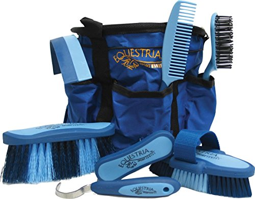 Horse Grooming Accessories - Equestria Sport Grooming Set - Blue - Part #: 2107