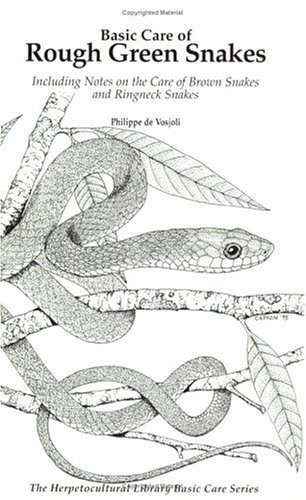 Basic Care of Rough Green Snakes (General Care and Maintenance of Series)