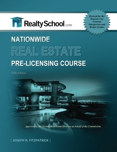5Th Edition Nationwide Real Estate Pre Licensing Course