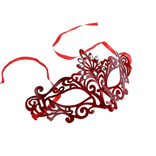 [RIUADA Fashion Venetian Hollow Masquerade Halloween Gift, Sexy Flowers Masks] (Eggshell Costume For Adults)