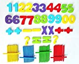 Blossom Wooden Computation Study Box for Basic Math Calculations for Children Ages 3+ Years