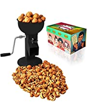 Hand Crank Walnut Cracker - Compact and Adjustable Nutcracker For Nuts - Easy to Use Walnut Cracking Machine - All Steel Nut Crackers for Walnuts