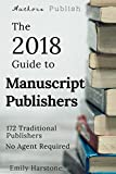 The 2018 Guide to Manuscript Publishers
