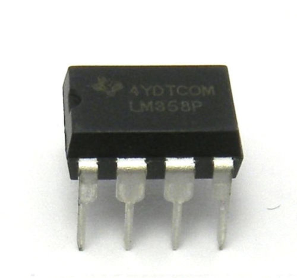 Texas Instruments Lm358n Lm358 Dual Operational The Lm324 Quad Comparator Circuit Images Frompo Amplifier Dip8 10 Pack Industrial Scientific