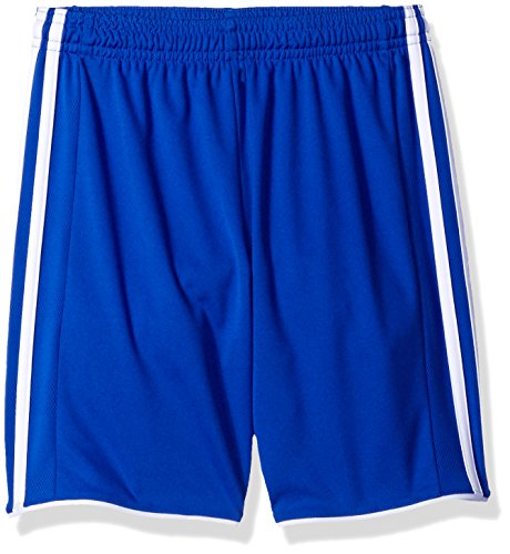 (adidas Youth Soccer Tastigo 17 Shorts, Bold Blue/White, Medium)