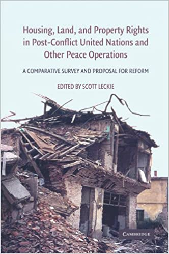 Téléchargements gratuits pour les livres audioHousing, Land, and Property Rights in Post-Conflict United Nations and Other Peace Operations: A Comparative Survey and Proposal for Reform B008SLZZ9E by Scott Leckie (Littérature Française) PDF PDB