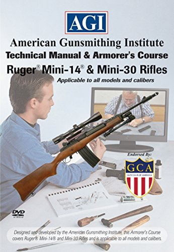 Institute Armorer's Course Video on DVD for Ruger Mini-14 & Mini Thirty Rifles - Technical Instructions for Disassembly, Cleaning, Reassembly and More ()