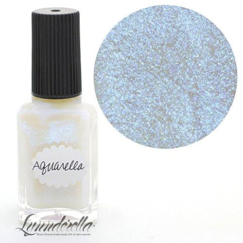 Lynnderella Shimmerella Aqua Nail Polish—Aquarella by Lynnderella