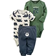 Carter's Baby Boys' 3 Piece Baby Bear Little Character Set 24 Months