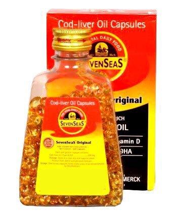 Seven Seas Cod Liver Fish Oil 500 Capsules