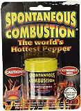 Spontaneous Combustion Worlds Hottest Pure Ground Red Savina Habanero Powder