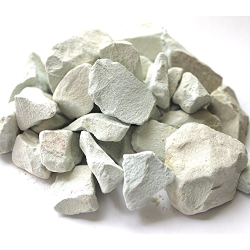Newstone's 100% Natural Zeolite Rock – Chunks of Large Natural Zeolite Rock , Mined From Japan (1.1lbs / 500grams) – Great for Odor Removal in Room, Use in Aquarium to Remove Ammonium (16mm-32mm)