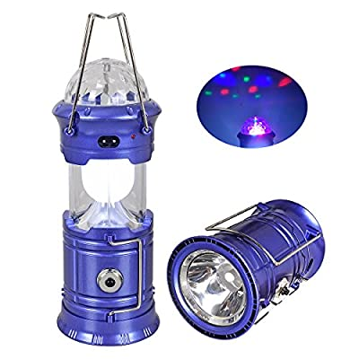 3-in-1 Rechargeable LED Camping Light Lantern & Portable Outdoor Survival Ultra Bright Lamp Flashlight for Fishing, Emergency, Hurricanes, Hiking, Hunting, Storm?Stage?Party