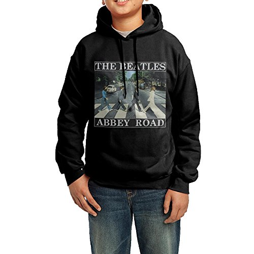 GGDD Youth Beatles Abbey Road Hip Hop Casual Style Hoodie Hooded Sweatshirt Casual Style XL Black
