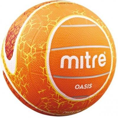 Mitre New Team Sports Training & Practice Oasis Netball Balls Orange Size 5-4