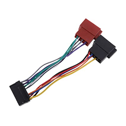 Cool Amazon Com Baosity 16 Pin Car Radio Sound Iso Lead Wire Harness Wiring Database Liteviha4X4Andersnl