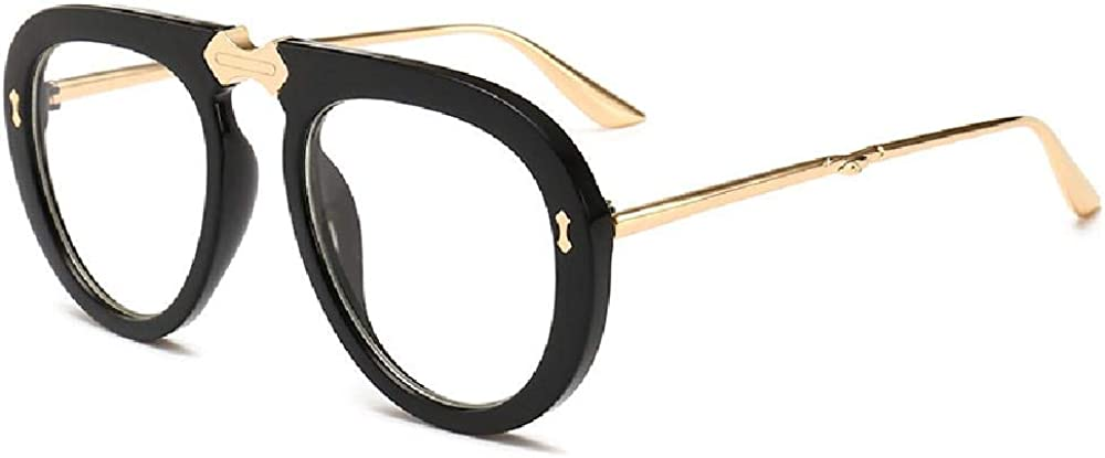 U/A 2Pcs Gafas De Sol Street Shot Retro Square Gafas De Sol De Marco Grande