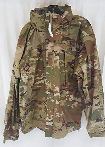 Genuine Military Extreme Cold Weather Level 6 Rain Parka, Scorpion (OCP), Made in USA, Size LL (Weather Parka Cold Extreme)