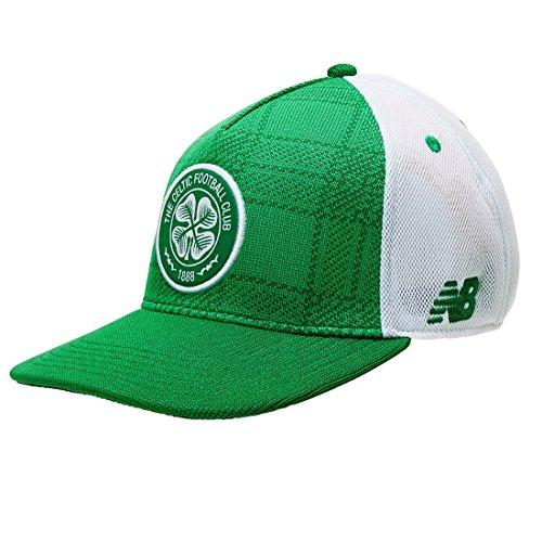 - New Balance Celtic FC Adult Flatpeak Cap - Official Licensed Product