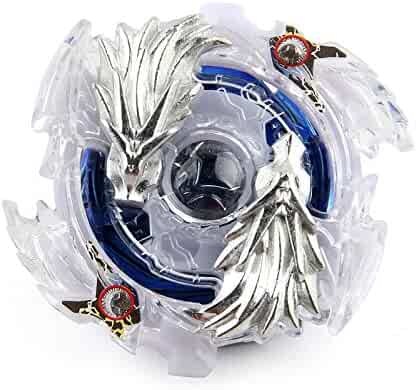 Mico Yuan Lost Longinus Luinor .N.Sp Burst Beyblade Starter With String Launcher B-66 White and Blue