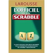 New Larousse of Scrabble & Word Games  Nouveau Larousse du Scrabble/ Dictionnaire des Jeux de Letters