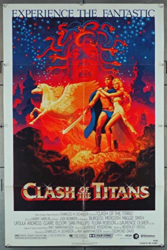 Clash Of The Titans (1981) Original One Sheet Poster (27x41)