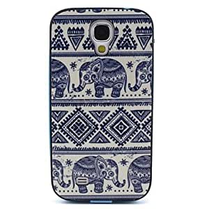 ZL Elephant Pattern Back Case Cover for Samsung Galaxy S4 I9500