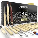 #5: Arteza Pottery & Clay Sculpting Tools (Set of 42)