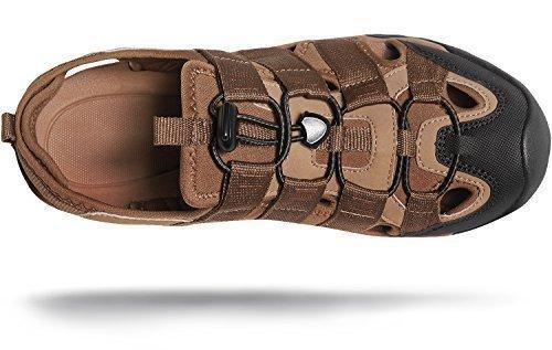 AT-M107-BRN_Men+10+D%28M%29+Atika+Men%27s+Sports+Sandals+Trail+Outdoor+Water+Shoes+3Layer+Toecap