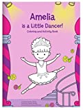 Personalized Custom Name Coloring Activity Book for Kids Toddlers Children Girls: Ballerina Dancer |...