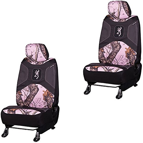 pink camo seat covers browning - 9