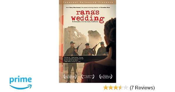 Amazon.com: Ranas Wedding: Clara Khoury, Khalifa Natour, Ismael Dabbag, Walid Abed Elsalam, Zuher Fahoum, Bushra Karaman, Georgina Asfour, Manal Awad, ...