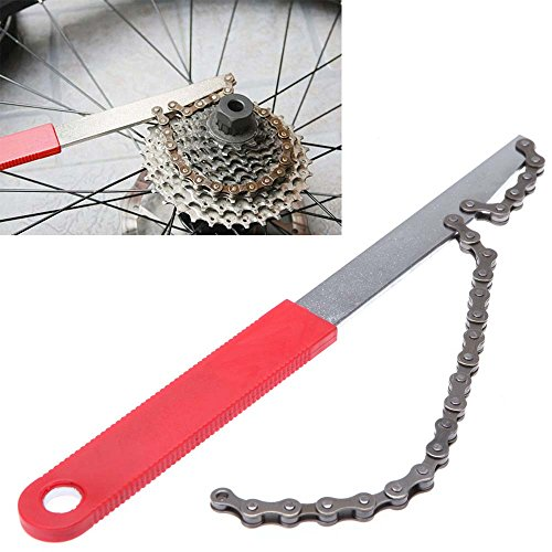 Carbon Steel Cassette Flywheel Wrench Bike Bicycle Flywheel Chain Disassembly Wrench Cycling Repairing Tool