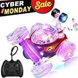 GBD Hobby RC Stunt Cars Toys for Kids Boys Girls Toddlers Adults Christmas Birthday Gifts Remote Control Car Vehicles Trucks Crawlers 360 Degree Spinning and Flips with Music