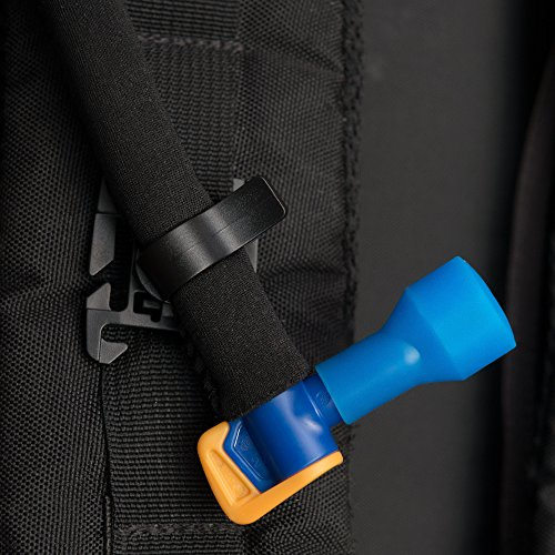Insulated Tube for Hydration Bladder Replacement Part, Premium Tasteless TPU Water Reservoir Hose for Water Bladder Hydration Pack Bladder with Shutoff Valve + FREE Universal Rotatable Water Tube Clip
