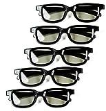 Optical Prime (5 Pack) 3D Glasses f