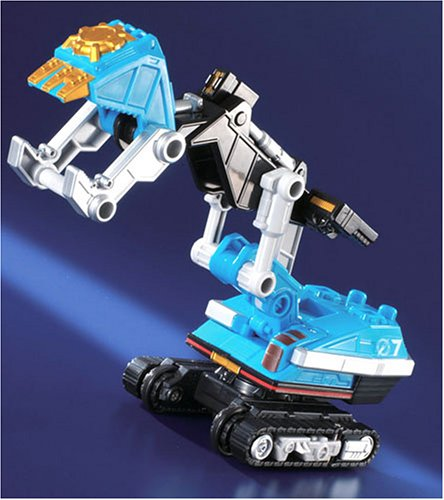 Power Rangers Operation Overdrive JAPANESE Light Blue Ranger 5 Inch Zoid Vehicle by Bandai