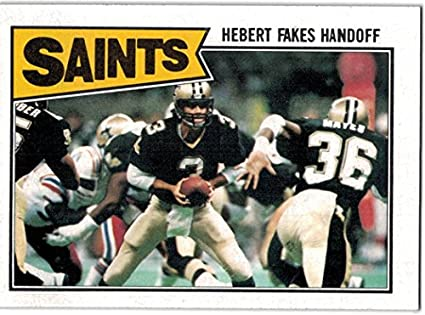 4bf5d79f9 1987 Topps New Orleans Saints Team Set with Rickey Jackson   Morten  Andersen - 11 NFL