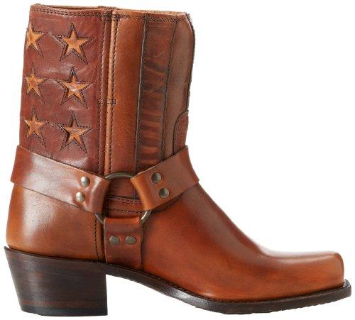 Frye Kvinners Sele Americana Kort Boot Tan