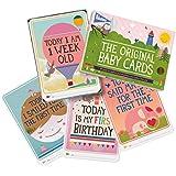 Milestone - Baby Photo Cards Original - Set of 30 Photo...